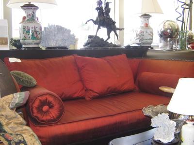 sleigh sofa-
