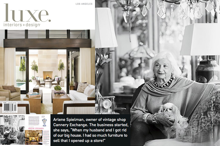 arlene cannery exchange featured in luxe interiors design magazine from the fall 2012 los angeles edition of luxe interiors design magazine - Luxe Interiors And Design Magazine